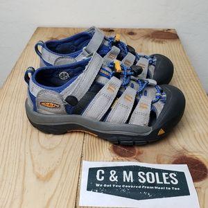 Keen Kids Newport H2 Sandals Gray Blue